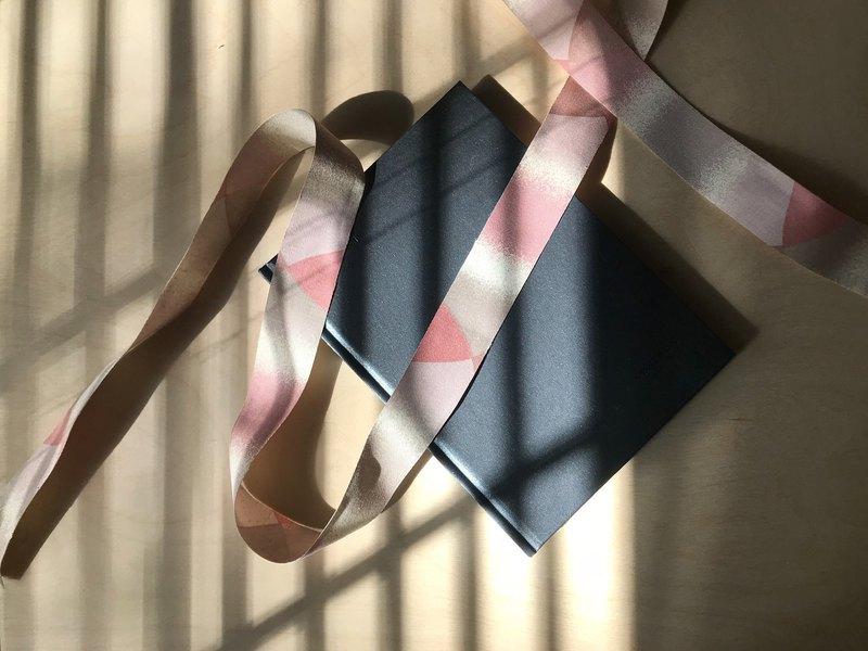 早期緞帶/ 粉色漸層 - 手作材料