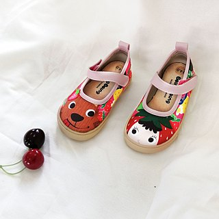 Illustration Doll Shoes - Pink / Strawberry Red Riding Hood