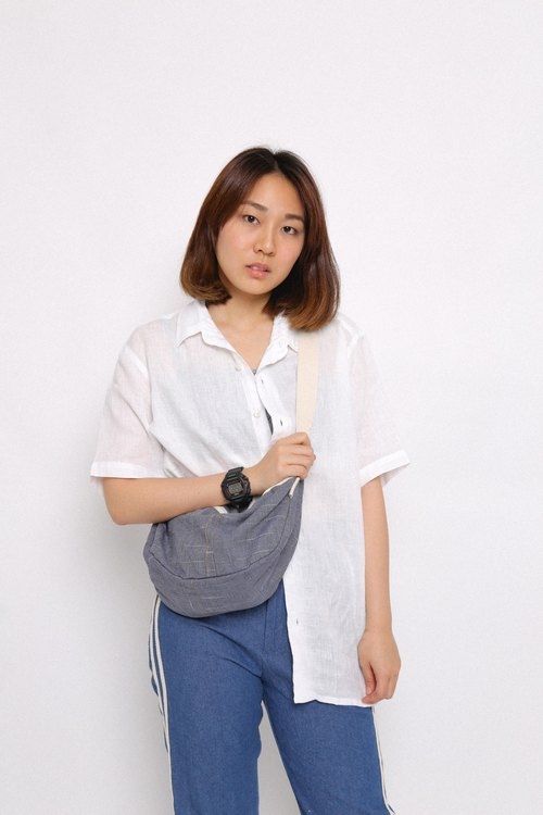 JAPFAC - BELT BAG - Midnight blue.