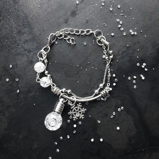 Fill in the blank  Tempo drop storm glass bracelet with diamond fragment