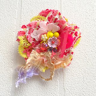 Corsage Brooch No.15  beads accessory kawaii