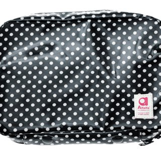 Mizutama beauty Travel cosmetics pouch with detachable pockets - Black