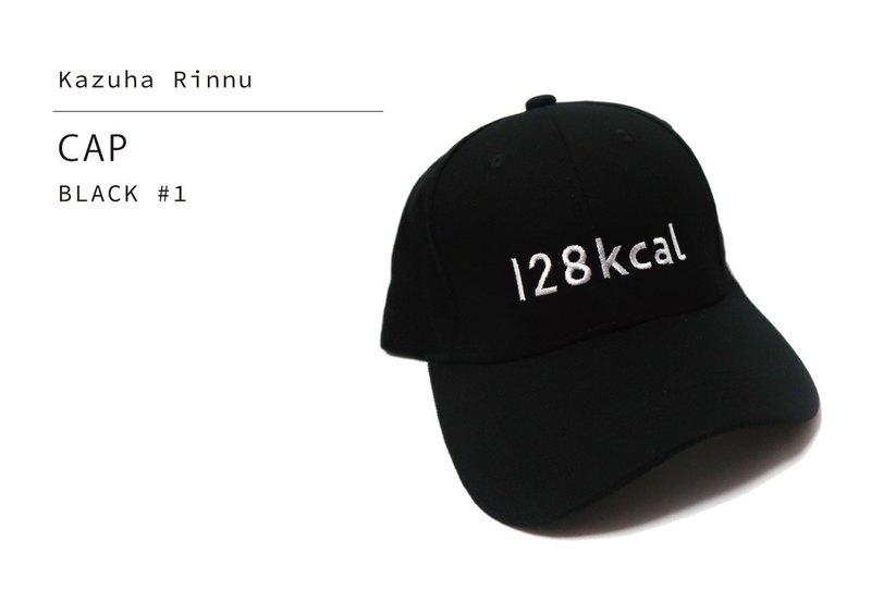 徽標帽#黑色