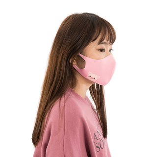 Berry Piggy - S/M - Zoo - 3D Breathable Mask