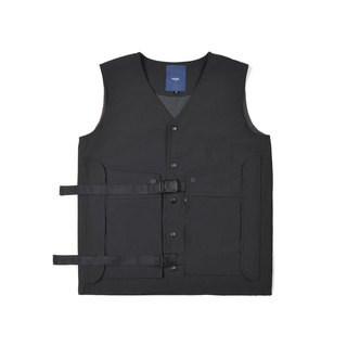 oqLiq - AdHeRe - Demolition pocket door tooling vest (black)