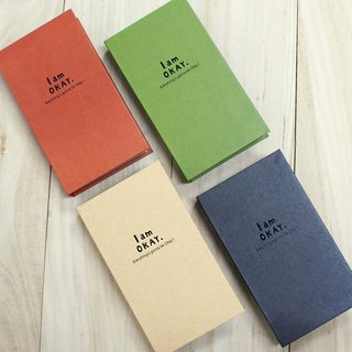 Berger Stationery xIamOkay [120 into the card] four colors