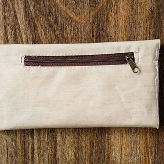 Macaron colored Wallet-Blanched Almond