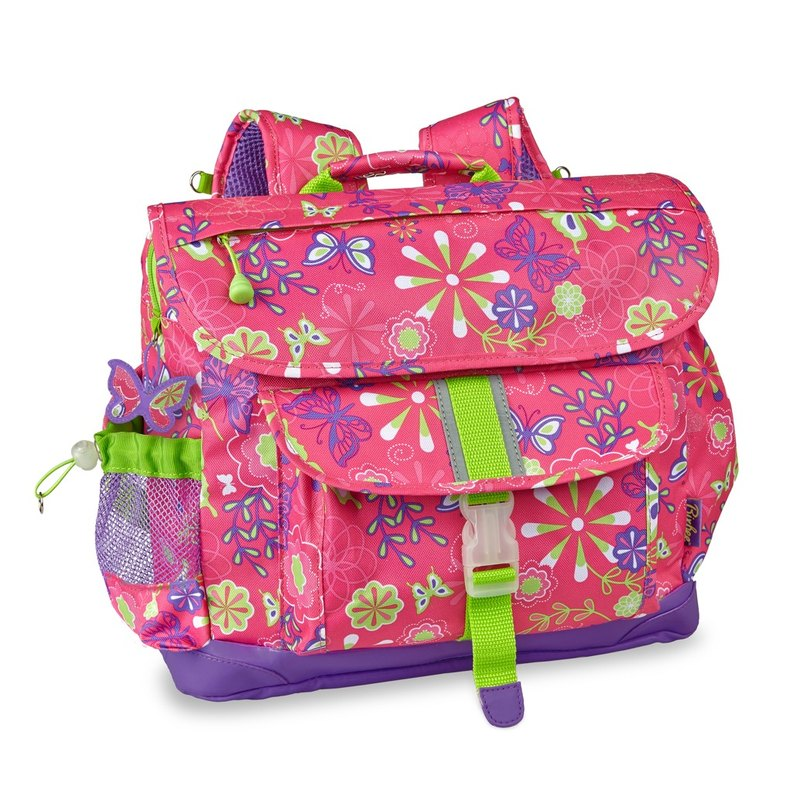 American Bixbee Color Printing Series - Color Butterfly Garden Big Child Lightweight Back Pressure / Schoolbag