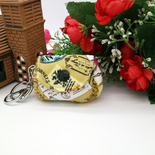 Retro wallet hanging ornaments small coin wallet key ring