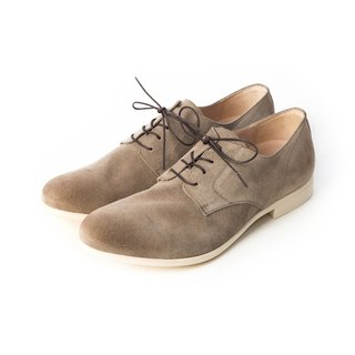 ARGIS Japanese suede comfortable casual shoes #56117 camel - Japanese handmade
