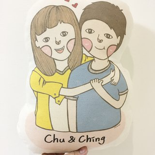 Homimi - Customized Pillows - Couples