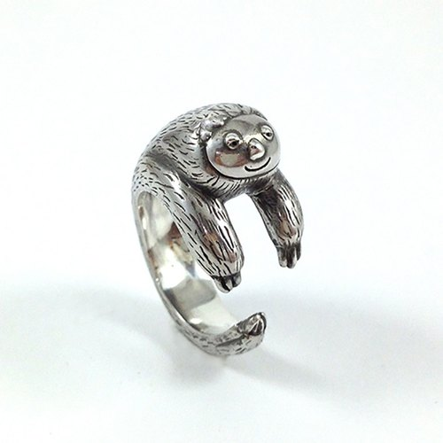 Ohappy Animal Series | Loan Silver Ring