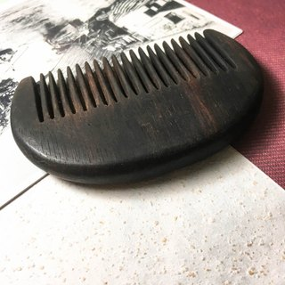 Hand and wind comb - ebony