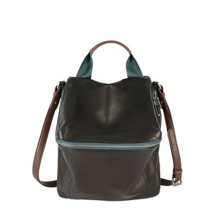 Pimm's Lightweight Sheepskin Casual Backpack - Dark Night