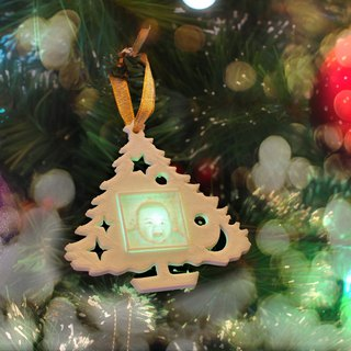 Photo Christmas Ornament, Lithophane Ornament, Baby/Pet Ornament,3D printed Gift