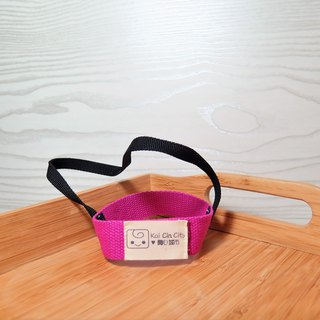 "Simple cotton webbing (bright purple) / Wen Qingfeng environmentally friendly beverage cup sets. Lifting belt. ""New measures to limit plastic policy."""