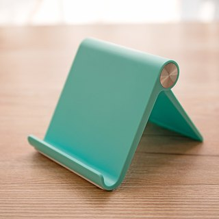 (simple texture) mobile phone / tablet ~ desktop multi-angle bracket - dazzling green