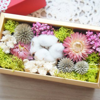 Hand-made dried flower / not withered series ~ love dry flower gift box / Mother's Day gift / Valentine's Day gift / wedding arrangement / wedding props / birthday gift / wedding gift ~