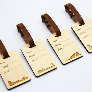 Canadian Elm Baggage Tag Ray Eagle Personal Name Telephone Coupon Price Increase 150 Yuan Subscript