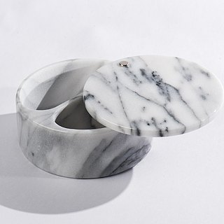Marble Spice Jar / Storage Tank / Ashtray