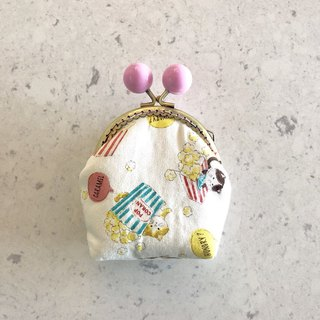 Little Rainbow Candy Gold Coin Purse - Rice Cat