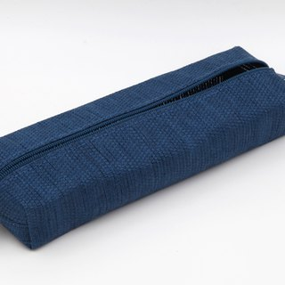 【Paper Cloth】Pen and Stationery Bag (Denim Blue)
