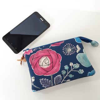 Beautiful and beautiful five-layer clutch (can be put on the phone) - give mother and their own practical Mother's Day gift