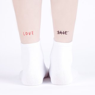 Tattoo tattoo stickers / love and hate Surprise Tattoos