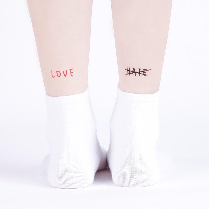 刺青紋身貼紙 / 愛與恨 Surprise Tattoos