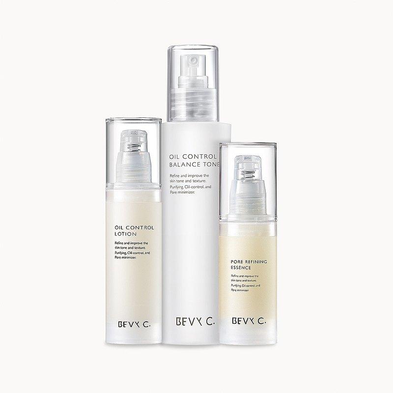 油脂平衡調理系列3件組  淨化毛孔、創造無瑕美肌