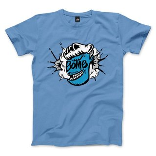 Mr.BOMB - Carlo Blue - neutral T-shirt