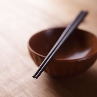 Ebony chopsticks chopsticks handmade no paint no wax 2 double entry