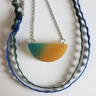 Resin Necklace / Summer Time
