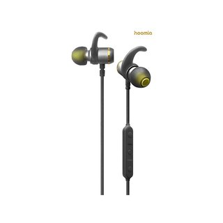 hoomia BT9-J Sport Bluetooth In-Ear Headphones Nippon Titanium Black