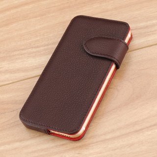 STORYLEATHER made (APPLE SAMSUNG HTC SONY LG) Style E2 glasses side open double-sided leather case