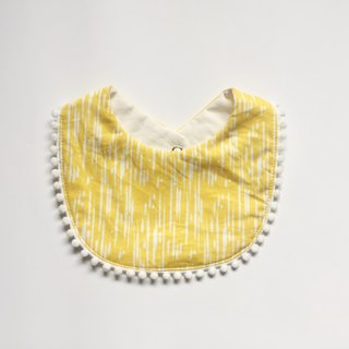 Organic Cotton Bib / Scratches