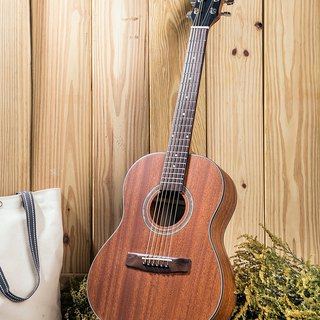 Taiwan original guitarman B-31BE 34吋 full peach flower wood single electric guitar pickup version