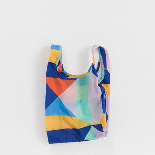 [New Products] BAGGU Eco Storage Shopping Bag - Mini Size - Geometric Patchwork