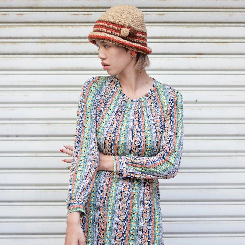 野百合  |  古著洋裝