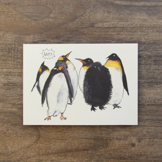 Postcard Penguins