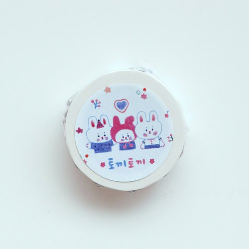 Rabbit rabbit masking tape
