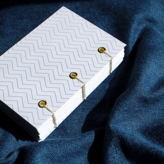 Simple wind hand stitched hardcover notebook