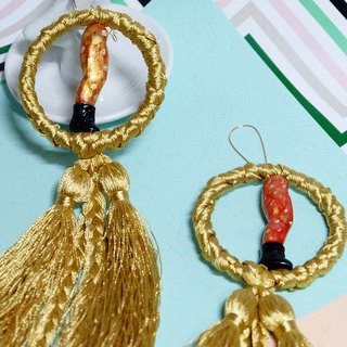 Remade baby Dolls boby earrings/ doll earrings/Playful decoration/handmade
