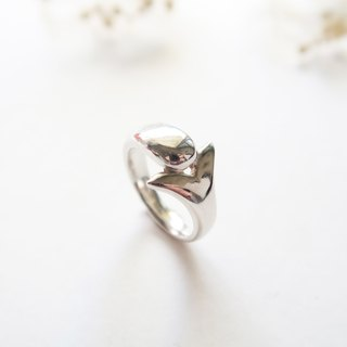 925 Silver Dolphin Ring
