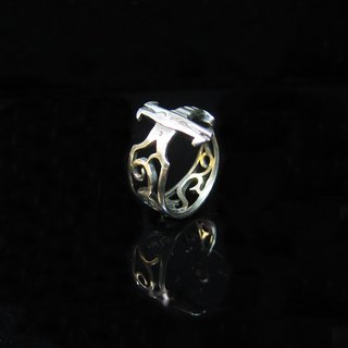 [Love and Peace series - Sword] handmade silver ring. Commemorative ring. Valentine's Ring