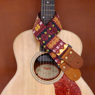 Red Himalaya Guitar Strap