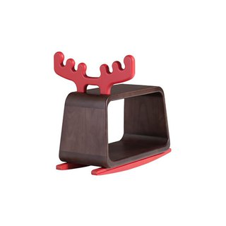 Chair stool. Big rock deer ─ [love door]