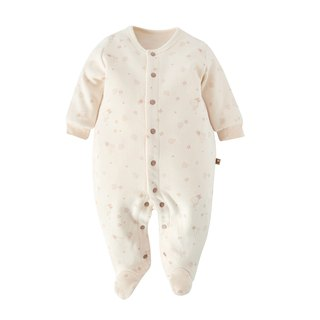 [SISSO Organic Cotton] Small leaves fluttering with rabbits 3M 6M 12M