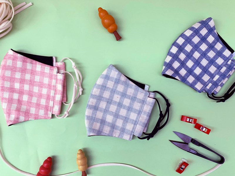 日常口罩 / 3D立體版 / 純棉/ 二重紗 / 多用途