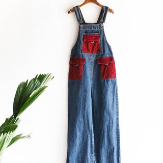 River Hill - Wakayama Yuko Claret weekend party coveralls denim suspenders trousers thin overalls oversize vintage pounds neutral Japan